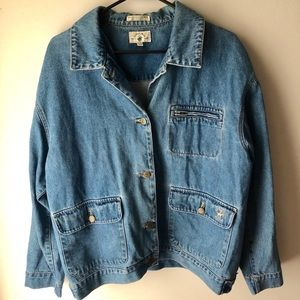 Beverly Hills Polo Club Jean Jacket Size L